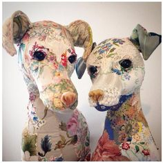 Winnie and Bronwen - Bryony Rose textile menagerie