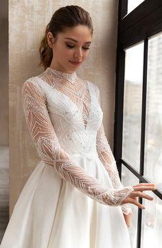 Simple Dresses, Elegant Dresses, Pretty Dresses, Beautiful Dresses, Bridal Wedding Dresses, Dream Wedding Dresses, Bridal Collection, Marie, Ball Gowns