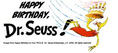 Tomorrow!! Celebrate Dr. Seuss' Birthday at UCSD Geisel Library at noon http://libraries.ucsd.edu/collections/sca/events/index.html