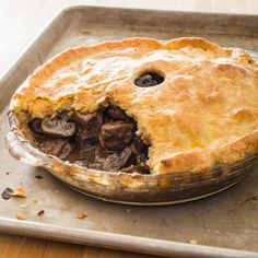 There's a place for marrying meat and vegetables under a pastry crust. This intensely savory pub favorite featuring tender beef napped in rich, glossy gravy is not that place.