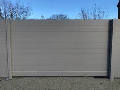 Aluminium schuifpoort op rail Outdoor Furniture, Outdoor Decor, Outdoor Storage, Garage Doors, Home Appliances, Home Decor, House Appliances, Decoration Home, Room Decor