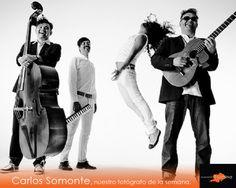 Carlos Somonte ha trabajado con diversas personalidades del mundo de la música, entre ellos Café Tacuba.