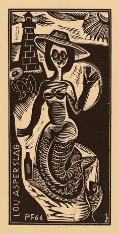 John Dix, Art-exlibris.net
