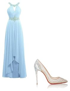 """""""Untitled #197"""" by chuchu-cli on Polyvore featuring Christian Louboutin"""