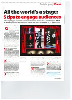 Presentation Skills - How to engage your audience