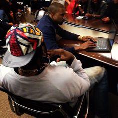 """""""Kanye West & Pusha T"""""""