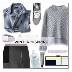 """""""Winter to Spring"""" by dolly-valkyrie ❤ liked on Polyvore featuring Chicwish, Alexander Wang, HEATHER OFFORD, Vans, philosophy and Wintertospring"""