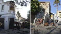 Δημιουργία - Επικοινωνία: Φονικός σεισμός 6,4 R στην Κω- 2 νεκροί, δεκάδες τ...