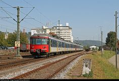 High quality photograph of SBB RABDe # at Thayngen, Switzerland. Swiss Railways, Locomotive, Switzerland, Electric, The Unit, Trains, Locs