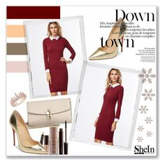 """""""SheIn"""" by sabine-herrlock ❤ liked on Polyvore featuring Christian Louboutin, Polaroid, Dolce&Gabbana, Laura Mercier and Anne Sisteron"""