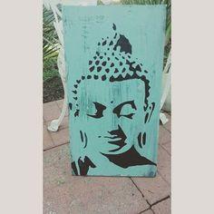 Buddhist Wall Art buddha wall art, buddha head, yoga studio decor, meditation altar