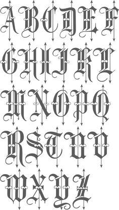 Black letter variant