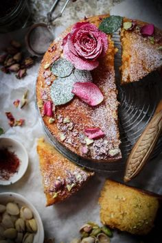 i decided to make this cake with valentines day in mind. have you heard the tale behind the Persian love cake? well it goes a bit