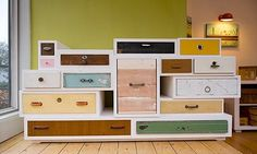 """The year was 1991 when 'You Can't Lay Down Your Memory ' Chest of Drawers by Dutch designer Tejo Remy premiered. By collecting found drawers and loosely bundle them into a chest, the iconic work is an early critique of consumerism.     [caption id=""""attachment_517"""" align=""""al"""