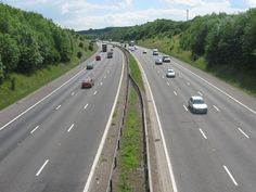 M25 Motorway heading to Junction 4, I remember i went on this junction loads of times.