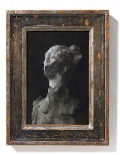 © Nicola Samorì, Dargilla, huile sur bakélite, 29,3x22,3 cm, 2013