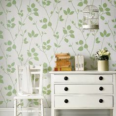 Superfresco Easy Virtue Pear Wallpaper at Homebase.co.uk