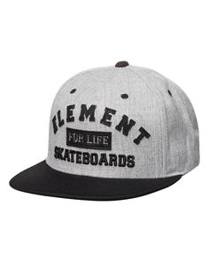 48df45740aa Element - For Life Snapback Cap - Black - P5CTB7