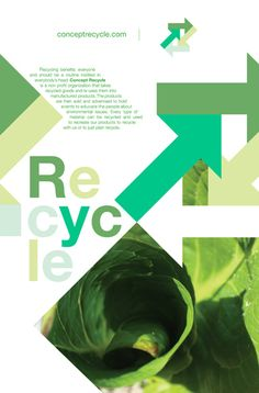 Recycle Poster by Devin Fernandez, via Behance
