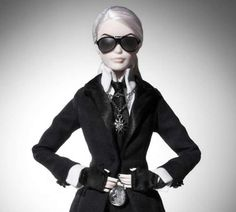 The super limited edition Karl Lagerfeld Barbie will hit the stores during Paris Fashion Week