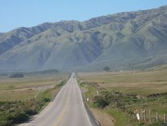 CA State Highway 1 - San Luis Obispo to Monterey (I started at Monterey and traveled to San Luis Obispo... 1976)