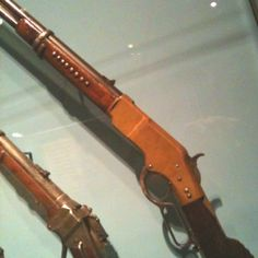 Geronimo's rifle, Smithsonian Museum of the American Indian Weapons Guns, Guns And Ammo, American War, American History, George Custer, Lever Action Rifles, Revolvers, Cool Guns, Geronimo