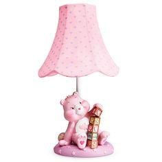 Nursery Lamp Bear Nursery, Girl Nursery, Nursery Ideas, Room Ideas, Teddy Bear Cartoon, Teddy Bears, Baby Girl Strollers, Care Bears Vintage, Toddler Themes