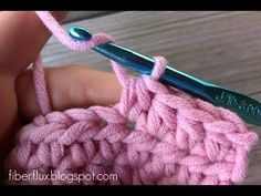 ▶ Episode 27: How to Work the Half Double Crochet Stitch - YouTube