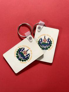 El Salvador keychain Llavero Salvadoreño Key holder Escudo   Etsy Countries In Central America, Rainbow Face, Hawaiian Print, Initials, Alternative, Etsy, Handmade, Design, Dads