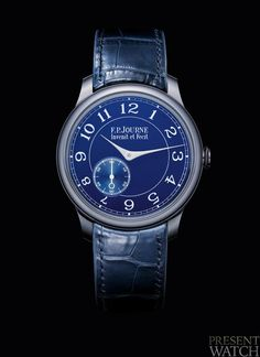 Chronomètre Bleu by F.P Journe watch - Presentwatch.com