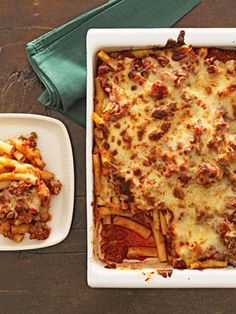 Easy, Cheesy Baked Ziti