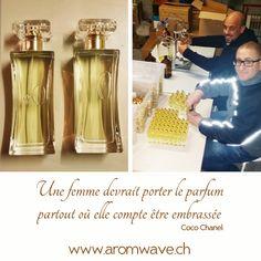 Chez Aromwave, nous passons la Journée de la Femme enivrés par vos délicieux parfums... Bonne fête à toutes!  Confection de parfum pour tiers - Remplissage et sertissage de flacons