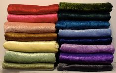 Fleece & Crushed Panne Velvet Throw Blanket  by BetsyRossLinens