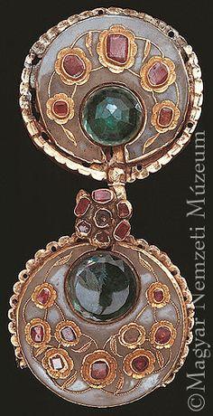 Large Burnt Orange Silk Tassel GS Antique Bronze Rhinestone Ornate Tassel Cap Vintage Jewelry Turkish Ottoman Jewelry Tassel Necklace