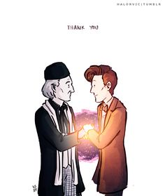 From the Eleventh Doctor to the First: Thank You.
