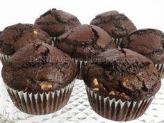DeNIKAtessen - Recetas de Cocina: Muffins de Chocolate y Nueces