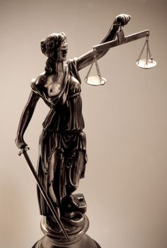 Lady Justice by Artist Unknown. This represents hundreds if not thousands of sculptures by different artists. I love the image and the meaning behind it.