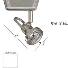H Series White Premium Low Voltage Luminary Wac Lighting Low Voltage Fixtures Track Light