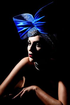 """Atelier Haute Mode.: """"In Vogue"""" Oversized Bow Hat, """"Midsummer's Night Dream"""" Addition. SS2015"""