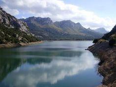 Espectaculares paisajes en la Sierra de Tramuntana.