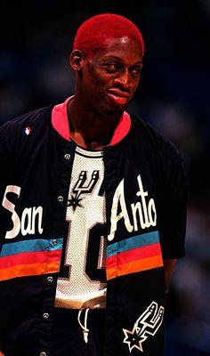 Dennis Rodman San Antonio Spurs