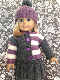 FREE: Wee Gingersnap for dolly pattern by Kristen Rettig - http://www.ravelry.com/patterns/library/wee-gingersnap-for-dolly