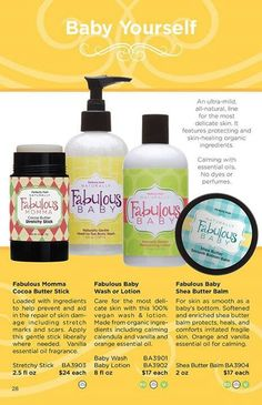"""Perfectly Posh Fabulous Baby  Another of Emma's favorites! Did you know many of the """"no tear"""" shampoos have numbing agents in them? Not these naturally based goodies!  Perfectlyposh.us/desimac"""