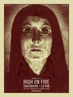 High On Fire Poster by Brian Ewing