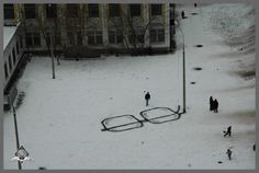 This shows such clear vision. Russian street artist Pavel 183. I'd like to buy him a couple of glasses of vodka!