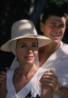 Ronald Reagan & Nancy Reagan, 1971.
