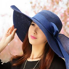 Women Basketwork Hats With Special Occasion/Casual/Outdoor Headpiece(More Colors) – AUD $ 14.29