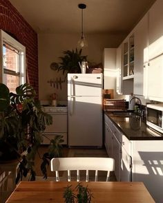 Big windows are a must for small kitchens