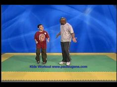Kid Exercise Workout Lose Weight with Paul Eugene - YouTube