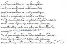 rockin around the christmas tree lyrics pdf